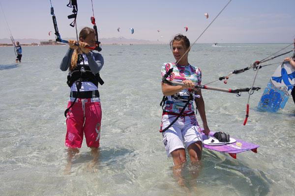 El Gounda KB4girls Surfcamp.  Foto: Redseazone.com