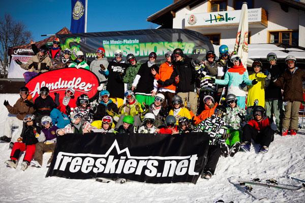 Freeskiers.net Style Camp 2009 Foto: Hans-Martin Kudlinski