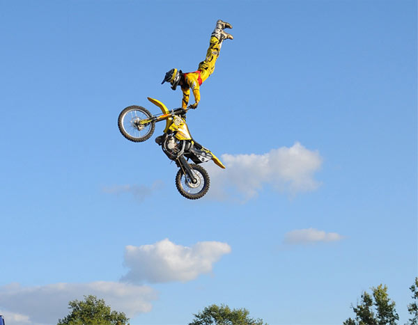 Freddy Peters DM FMX.  Foto: Marcel Petke