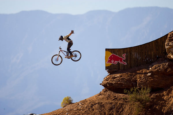 Graham Agassiz beim Red ull Rampage.  Foto: John Gibson/Red Bull Photofiles