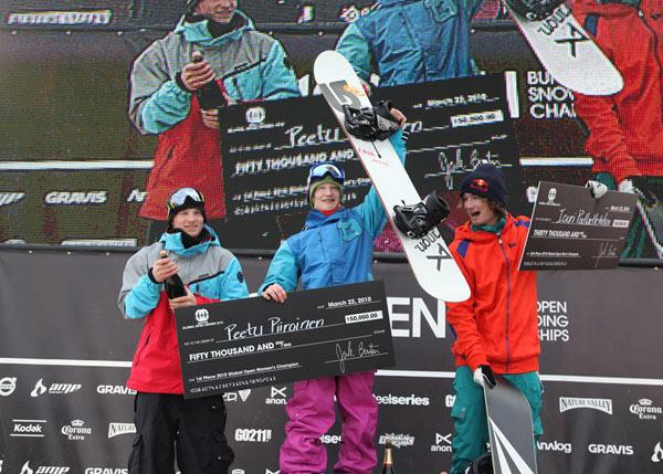 Peetu Piroinen: Gewinner der Global Open Serie 2009/2010.  Foto: Blazek