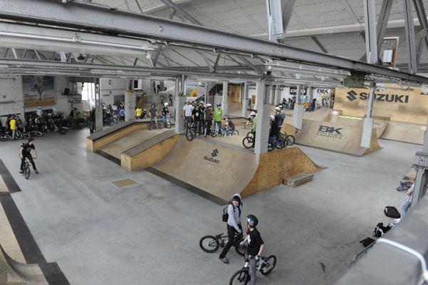 Overview Bike & Skatepark Köln.  Foto: spielbetrieb/Thomas Köpke