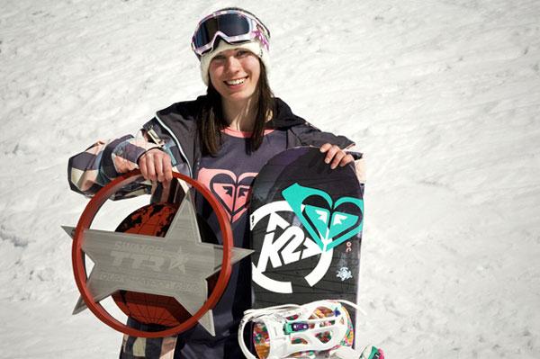 TTR World Snowboard Champion der Damen, Enni Rukajärvi.  Foto:  Laura Austin