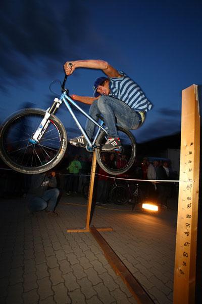 Bunny Hop Contest Winner 2009 Martin Söderström.  Foto: Lars Scharl