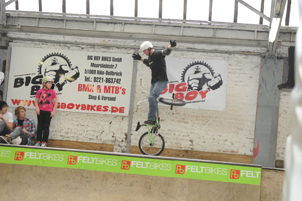 Manni Beyer beim Rookies Jam Contest 2010 in Köln.  Foto: Thomas Köpke
