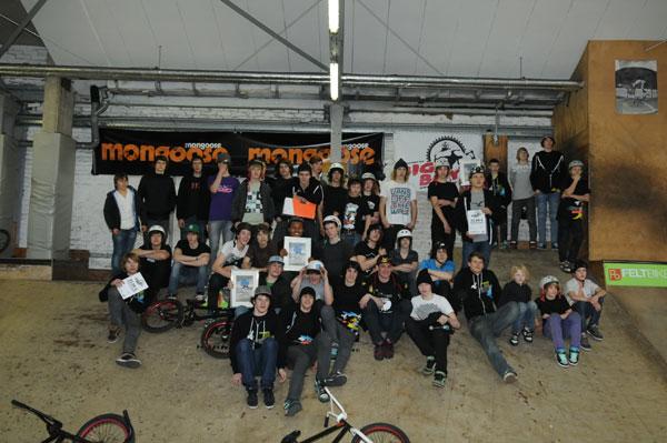 Teilnehmer des Rookie Jam Contest 2010 in Köln.  Foto: Thomas Köpke