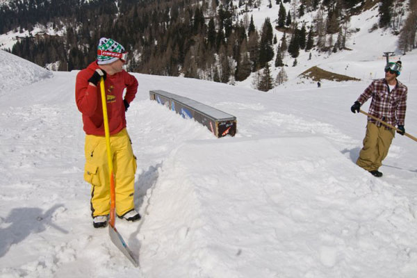 Coolest Job in Obertauern 2010.