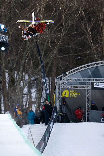 Jossi Wells bei der Dew Tour am Mt. Snow.  Foto: George Crosland