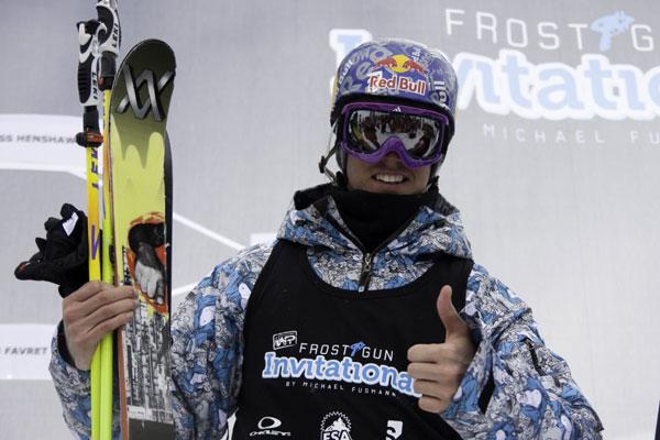Russ Henshaw gewann das Frostgun Invitational in Val Thorens 2010.  Foto: Ben Burnett