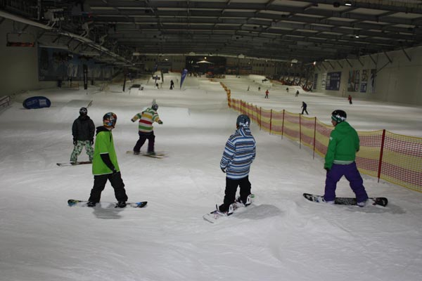 Snow Dome in Bispingen.  Foto: Funsporting