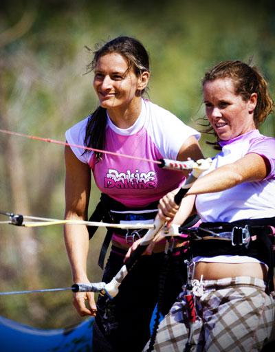 KB4girls Camp mit Kristin Boese.  Foto: Kevin Prichard