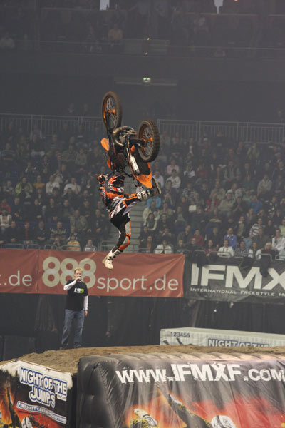 Massimo Bianconcini bei der Night of the Jumps 2010 in Basel.  Foto: Oliver Franke / IFMXF.com
