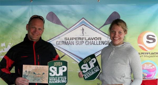 Andreas Wolter und Corinna Hahn: Gewinner der Race around Scharfenberg.  Foto: superflavor.de