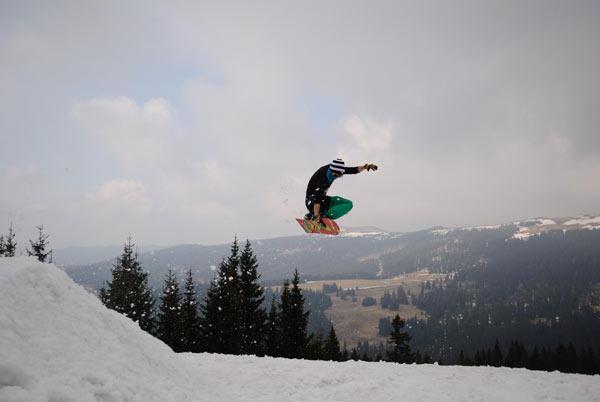 Slushy Summer Session im Snowpark Weststeiermark.  Foto: Veranstalter