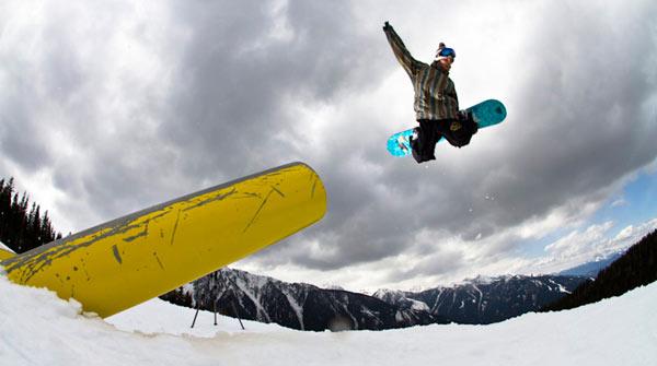 Filip Hrkl: Bester Rider aus der Slowakei beim King of Snow 2010.  Foto: Haschka