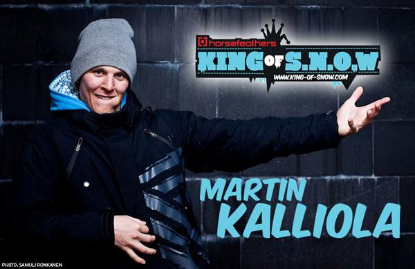 Der Gewinner des King of Snow 2010: Martin Kalliola Foto: Ronkanen