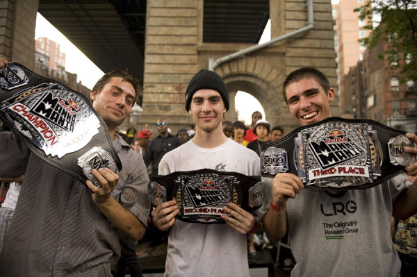 Eli Reed, Mike Mo Capaldi, Kelly Hart Foto: Jonathan Mehring/Red Bull Photofiles