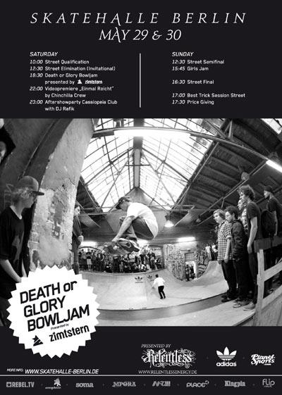 Clash 2010 in der Skatehalle Berlin.  Foto: Veranstalter