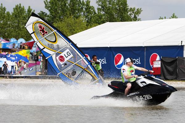 Surf Worldcup Podersdorf 2010.  Foto: PWA John Carter