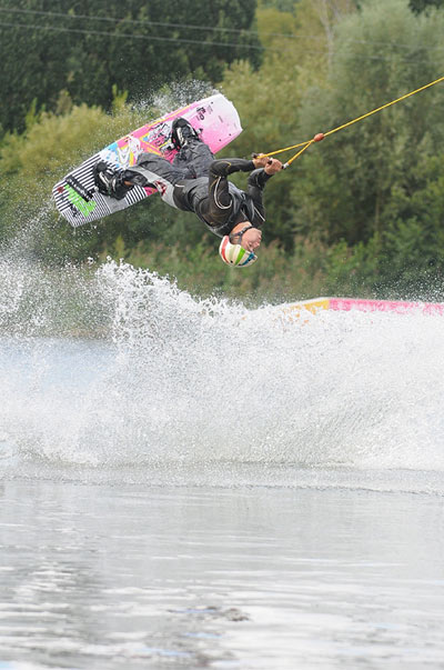 Cable Wakeboard: Mike Ketellapper.  Foto: Prill