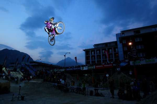 King of Dirt Night Jump.  Foto: Veranstalter
