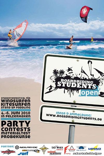 Boardriding Students Open 2010 in Pelzerhaken.  Foto: Veranstalter