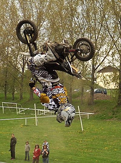 Luc Ackermann beim Training.  Foto: M. Wagner