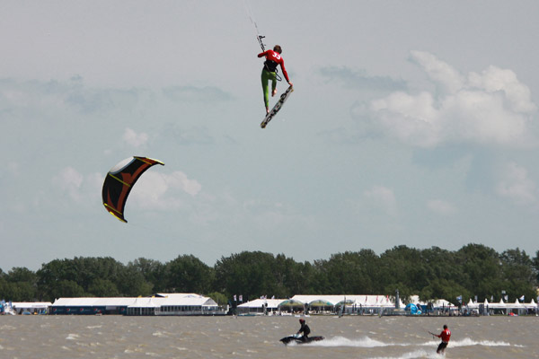 Kitesurf Tour Europe am Neusiedler See 2010.  Foto: Veranstalter