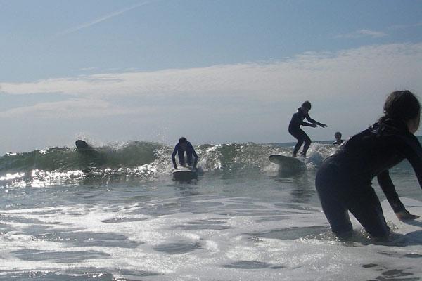 Surfcamp auf Sylt 2009.  Foto: Michael Kahl