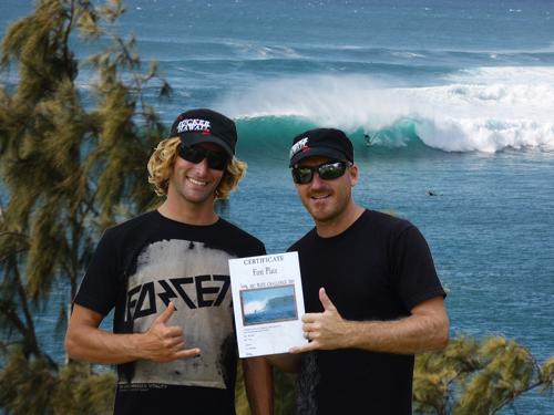 Fabian auf Maui.  Foto: Veranstalter