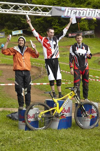 Von links nach rechts: Bunke Michael, Krieger Andreas, Pries Timo.  Foto: Alex Pusch