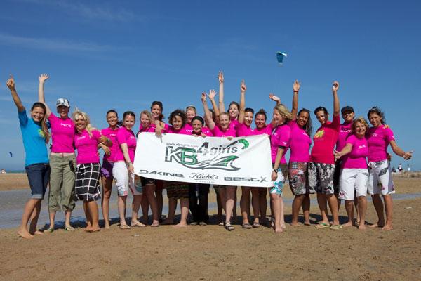KB4girls in El Gouna 2010.  Foto: Dave Cooper