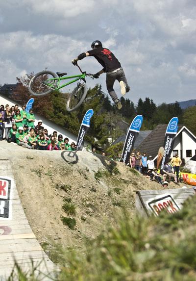 iXS Dirt Masters Festival 2010 in Winterberg.  Foto: Mario Schäfer