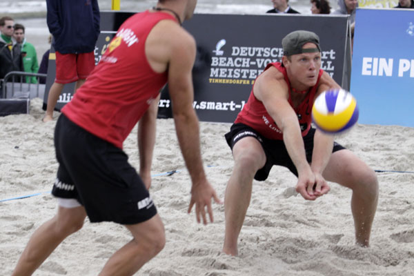 Volleyballer Owen Boland.  Foto: White Sands Festival