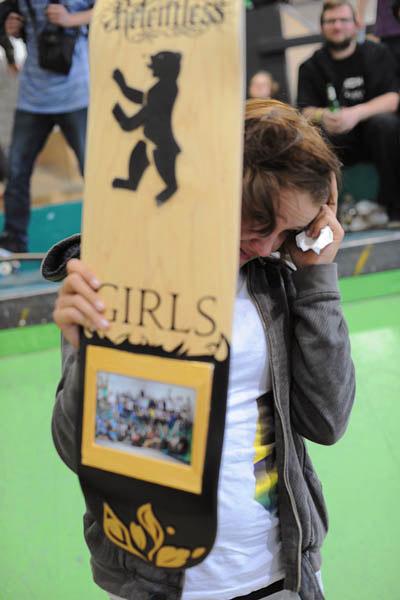 Diana Kränsel gewinnt beim Clash 2010 in Berlin.  Foto: Veranstalter