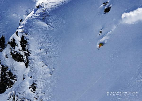 Die Snowsick-Crew auf Tour.  Foto: Stefan Schneider