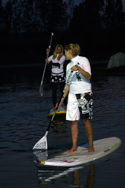 Nightflight SUP Sprint 2010 in Berlin.  Foto: www.superflavor.de