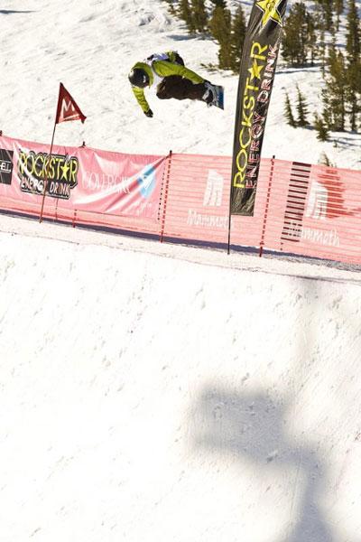 Kelly Clark in Action bei der TTR Tour 2010.  Foto: Mark Welsh