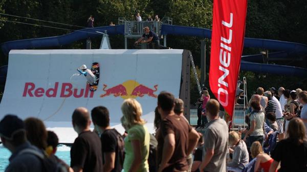 Nico von Lerchenfeld beim Wake the Line.  Foto: Veranstalter