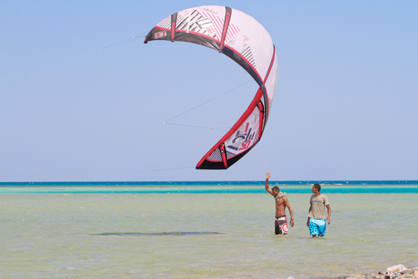 Kitesurfen in gypten 
