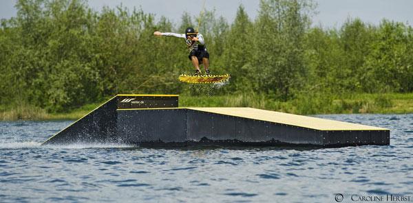 Kristof Zint in Action.  Foto: Caroline Herbst