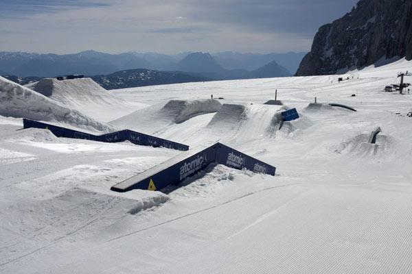 Superpark am Dachstein.  Foto: Daniel Ausweger/Qparks