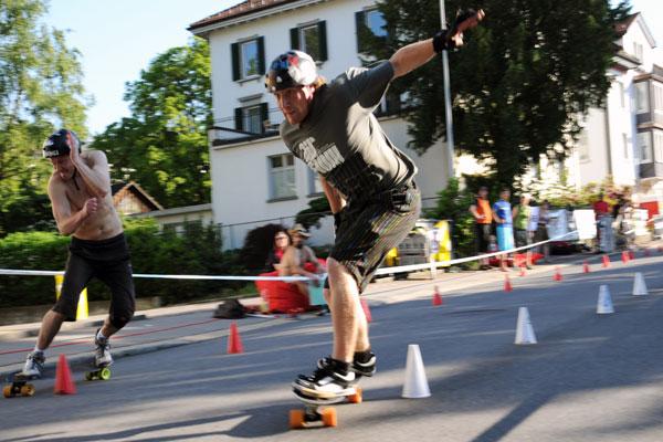 Slalom EM in Richterswil 2010.  Foto: Veranstalter