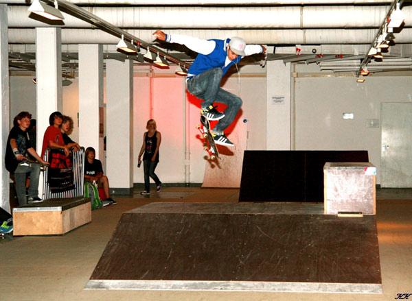Skatecontest beim 1st Munich Surffestival 2010.  Foto: Veranstalter