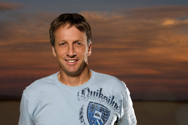 Skateboard Legende Tony Hawk.  Foto: Quiksilver