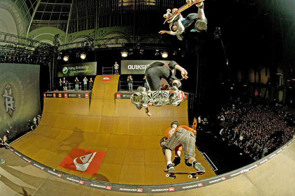 Tony Hawk Friends European Skateboarding Tour kommt 2010 nach Berlin.  Foto: Veranstalter