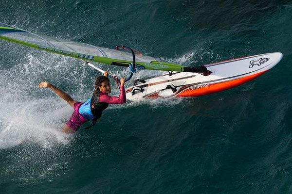 Interview mit den Moreno Schwestern.  Foto: World of Windsurfing