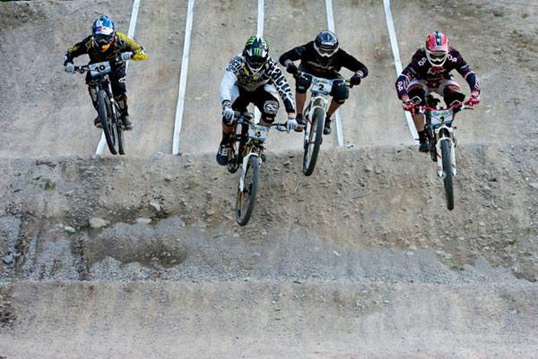 iXS Fourcross Race in Leogang 2010.  Foto: Thomas Dietze