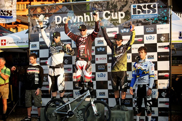 Out Of Bounds Festival 2010: iXS Four XRace Podium.  Foto: Yorick Carroux