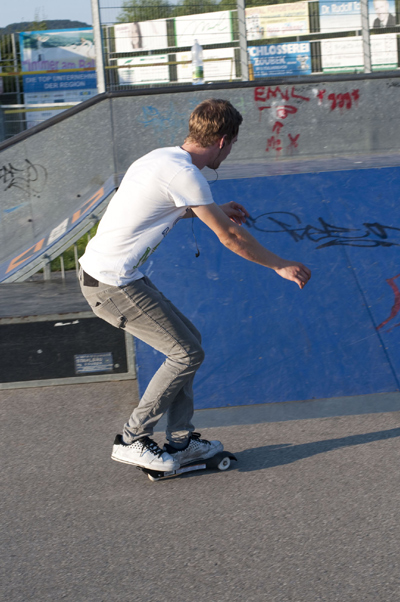 Der Sole Skate im FUNSPORTING Härtetest.  Foto: www.daviddesigns.at